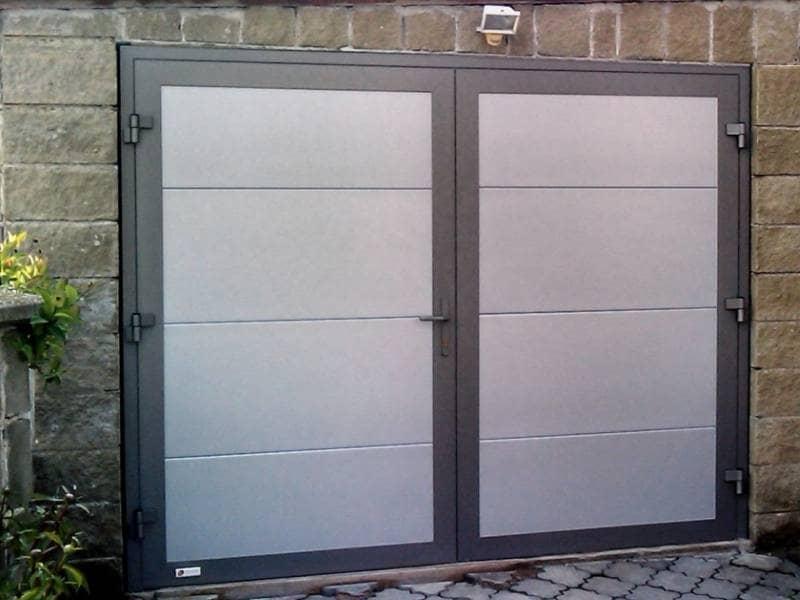 происходит знакомство фото распашных гаражных ворот для
